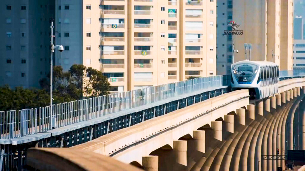 METRÔ DE SÃO PAULO – LÍNEA 15